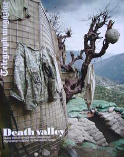 <!--2010-05-22-->Telegraph magazine - Combat Zone cover (22 May 2010)
