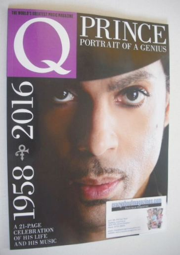 <!--2016-07-->Q magazine - Prince cover (July 2016)