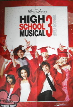 High School Musical 3 2009 Year Planner / poster