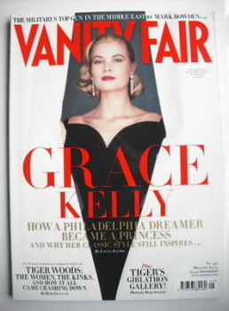 Vanity Fair magazine - Grace Kelly cover (May 2010)