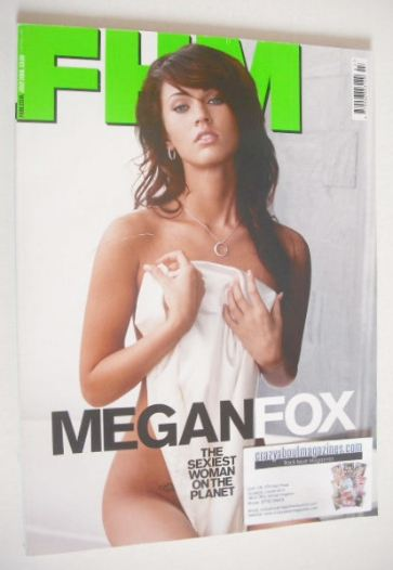 <!--2008-07-->FHM magazine - Megan Fox cover (July 2008)