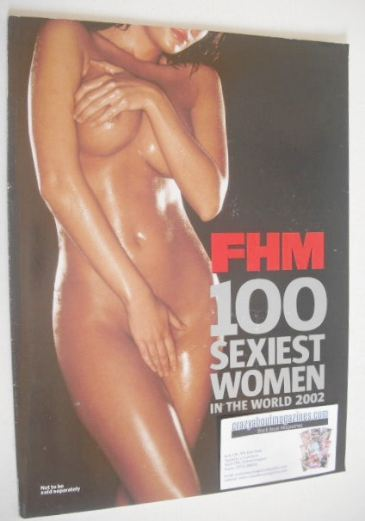 FHM supplement - 100 Sexiest Women In The World 2002