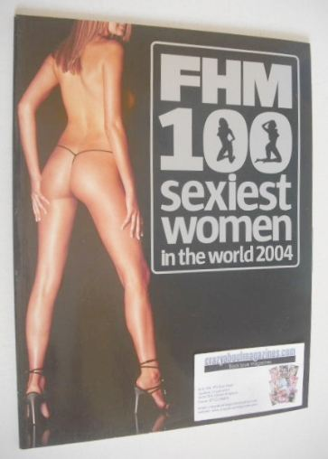 FHM supplement - 100 Sexiest Women In The World 2004