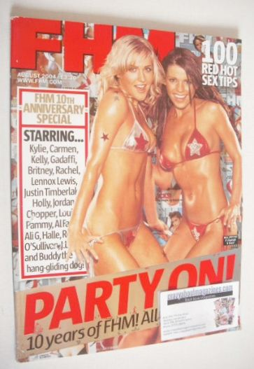 <!--2004-08-->FHM magazine - 10th Anniversary Special Issue (August 2004)
