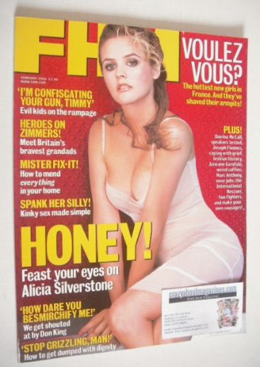 <!--2000-02-->FHM magazine - Alicia Silverstone cover (February 2000)
