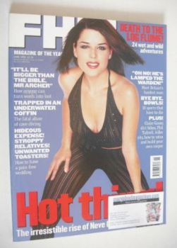 FHM magazine - Neve Campbell cover (June 1998)