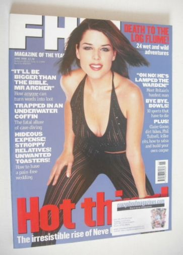 Neve Campbell Cover (June 1998