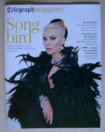 <!--2016-04-30-->Telegraph magazine - Daphne Guinness cover (30 April 2016)