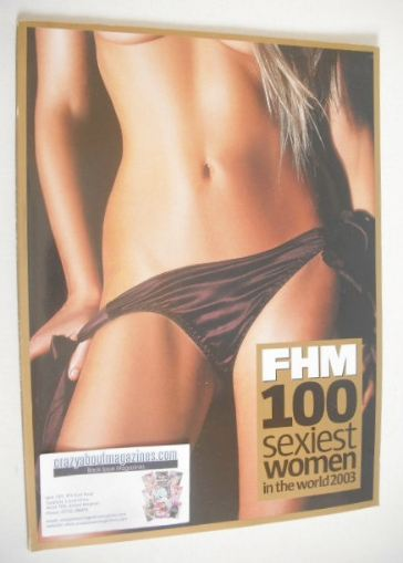 FHM supplement - 100 Sexiest Women In The World 2003