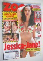 <!--2011-11-25-->Zoo magazine - Jessica-Jane Clement cover (25 November-1 December 2011)