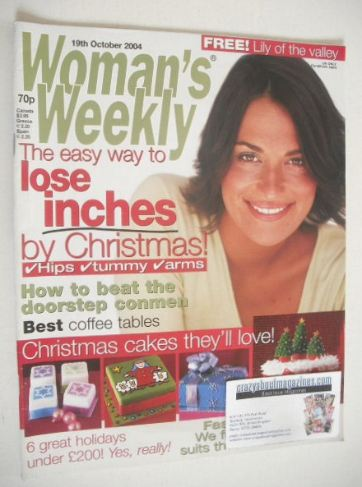 <!--2004-10-19-->Woman's Weekly magazine (19 October 2004)