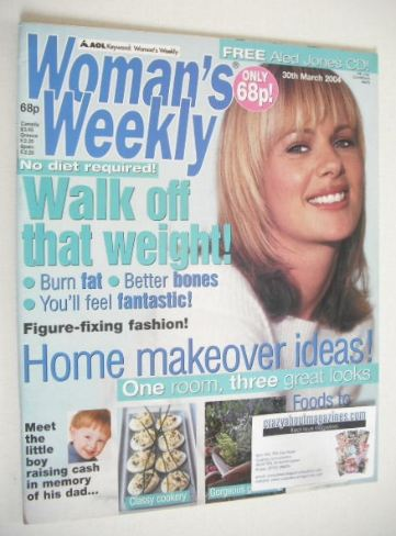 <!--2004-03-30-->Woman's Weekly magazine (30 March 2004)