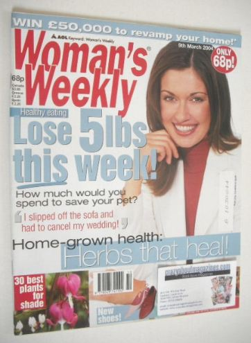 <!--2004-03-09-->Woman's Weekly magazine (9 March 2004)