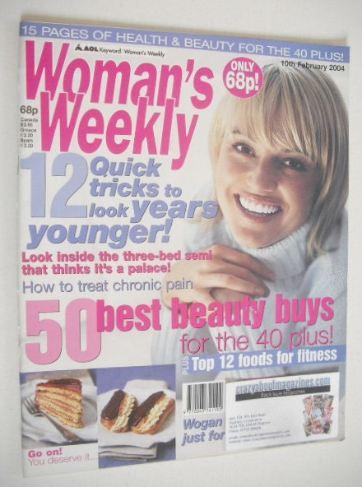 <!--2004-02-10-->Woman's Weekly magazine (10 February 2004)