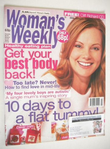 <!--2004-01-20-->Woman's Weekly magazine (20 January 2004)