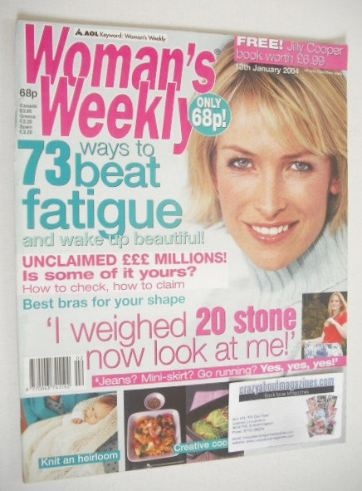 <!--2004-01-13-->Woman's Weekly magazine (13 January 2004)