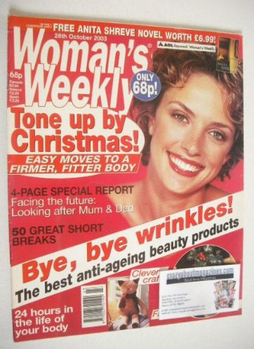 <!--2003-10-28-->Woman's Weekly magazine (28 October 2003)