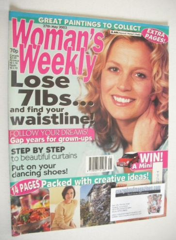 <!--2003-05-27-->Woman's Weekly magazine (27 May 2003)
