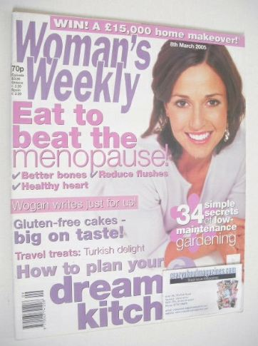 <!--2005-03-08-->Woman's Weekly magazine (8 March 2005)