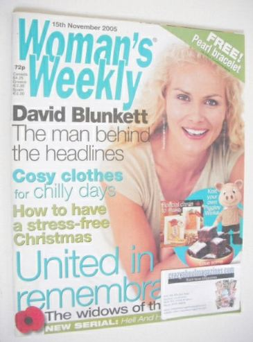 <!--2005-11-15-->Woman's Weekly magazine (15 November 2005 - British Editio