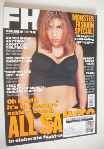 <!--1998-03-->FHM magazine - Melanie Blatt cover (March 1998)