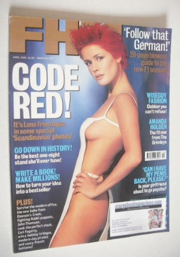 <!--2000-04-->FHM magazine - Lene Nystrom cover (April 2000)