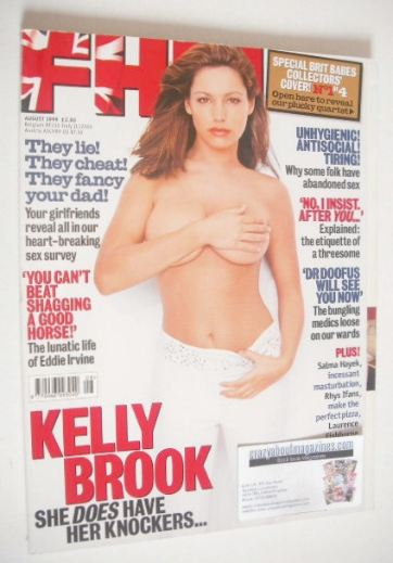 <!--1999-08-->FHM magazine - Cat Deeley cover (August 1999)