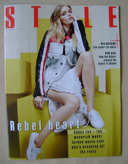 <!--2016-05-08-->Style magazine - Abbey Lee cover (8 May 2016)