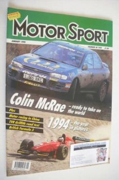 <!--1995-01-->Motorsport Magazine - January 1995