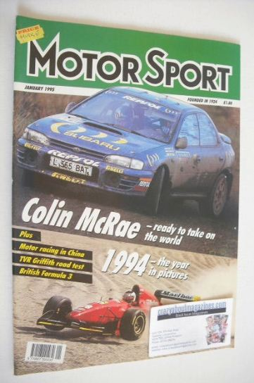 <!--1995-01-->Motorsport Magazine - January 1995
