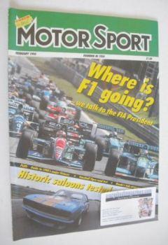 Motorsport Magazine - February 1995