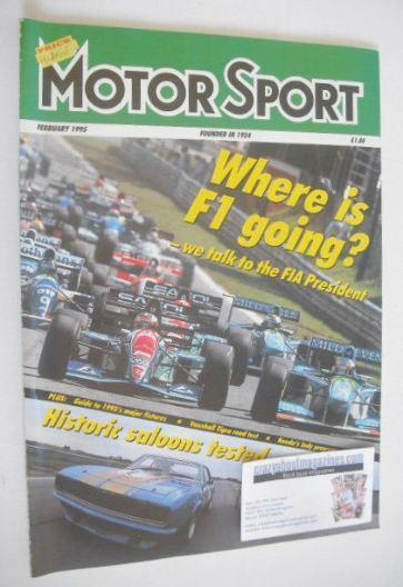 <!--1995-02-->Motorsport Magazine - February 1995