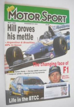Motorsport Magazine - May 1995