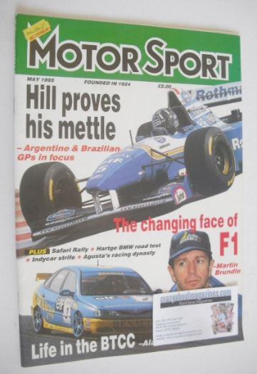 <!--1995-05-->Motorsport Magazine - May 1995