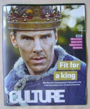 Culture magazine - Benedict Cumberbatch cover (8 May 2016)