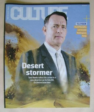 <!--2016-05-01-->Culture magazine - Tom Hanks cover (1 May 2016)