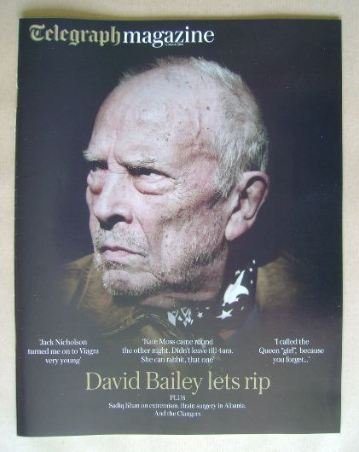 <!--2016-03-12-->Telegraph magazine - David Bailey cover (12 March 2016)