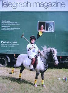 <!--2007-07-21-->Telegraph magazine - Pint-Size Polo cover (21 July 2007)