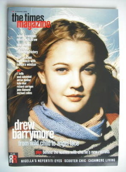 The Times magazine - Drew Barrymore cover (4 November 2000)