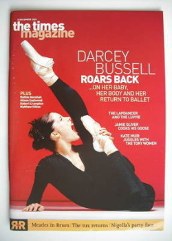 The Times magazine - Darcey Bussell cover (8 December 2001)
