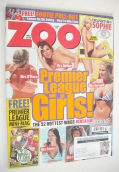 Zoo magazine - Premier League of Girls cover (14-20 August 2009)