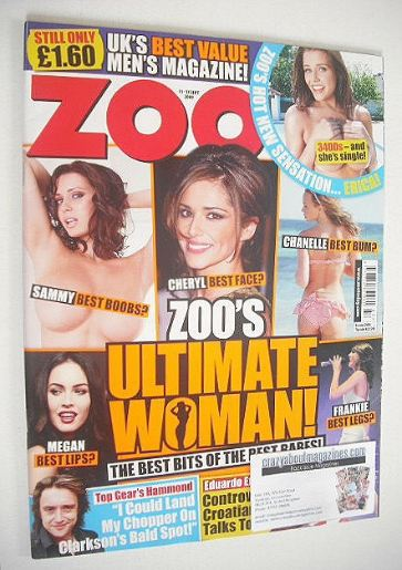 <!--2009-09-11-->Zoo magazine - Zoo's Ultimate Woman cover (11-17 September