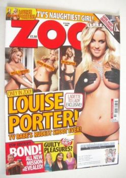 Zoo magazine - Louise Porter cover (8-14 February 2008)