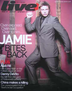 <!--2007-01-14-->Live magazine - Jamie Oliver cover (14 January 2007)