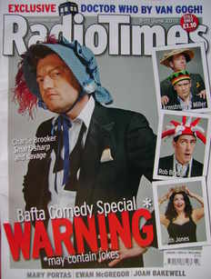 <!--2010-06-05-->Radio Times magazine - Charlie Brooker cover (5-11 June 20