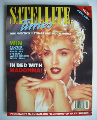 Satellite Times magazine - Madonna cover (June 1991)