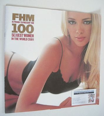 FHM supplement - 100 Sexiest Women In The World 2001