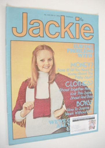 <!--1976-02-21-->Jackie magazine - 21 February 1976 (Issue 633)
