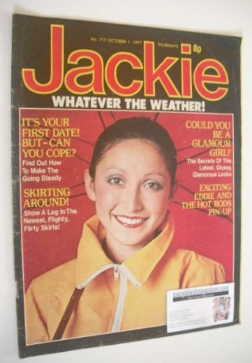 <!--1977-10-01-->Jackie magazine - 1 October 1977 (Issue 717)