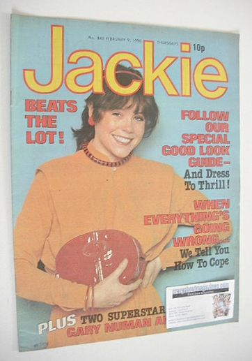 <!--1980-02-09-->Jackie magazine - 9 February 1980 (Issue 840)